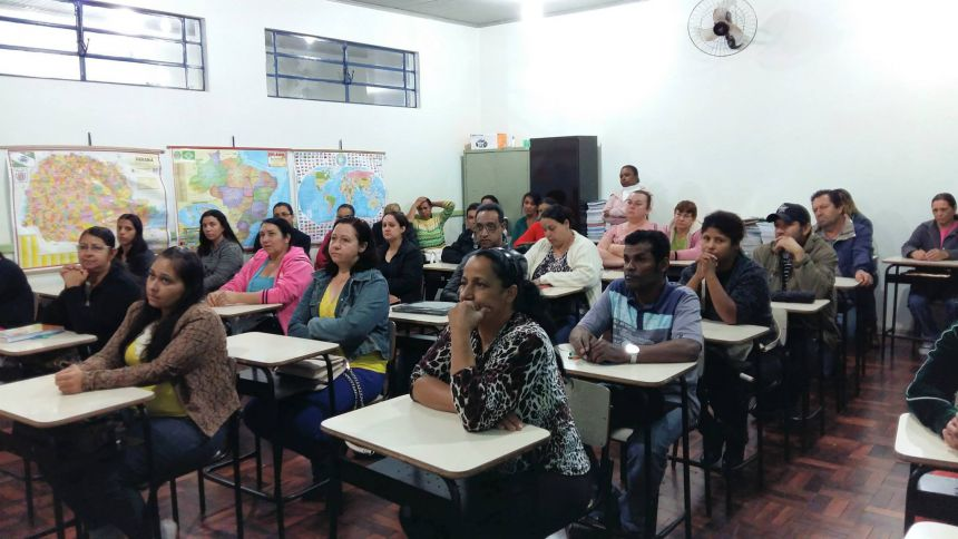 Mais de 40 pessoas participaram da abertura do cur