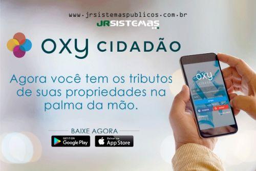 BAIXE O APP OXY CIDADÃO