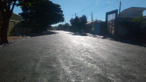 Recapeamento na Rua José Maria de Barros