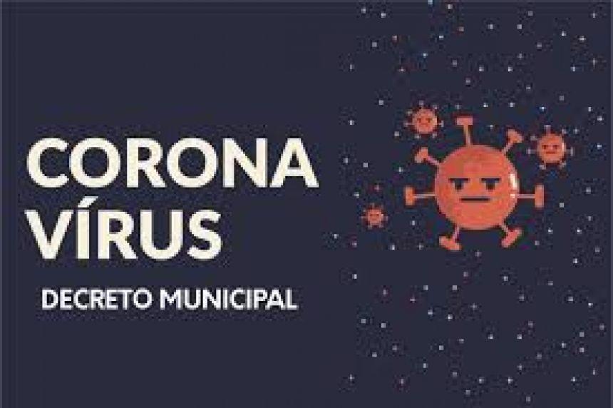 DECRETO MUNICIPAL - CORONAVÍRUS