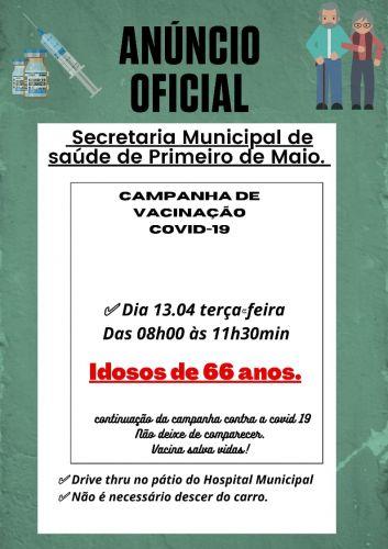 VACINA��O 66 ANOS