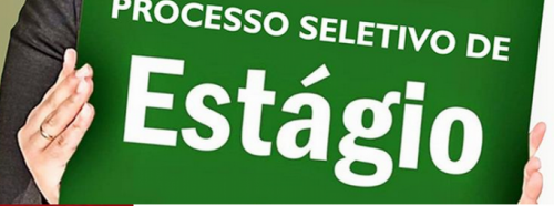 PROCESSO SELETIVO DE ESTAGI�RIO.