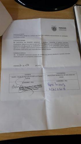 MUNICÍPIO RECEBE DOAÇÃO DE OXÍMETRO