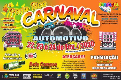 4º CARNAVAL PORTO RICO AUTOMOTIVO