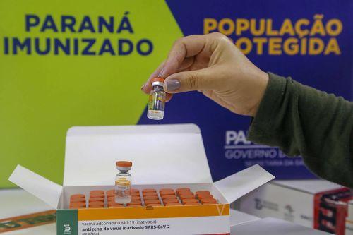 Paraná recebe mais 227,4 mil doses de vacina contra Covid-19 nesta sexta-feira