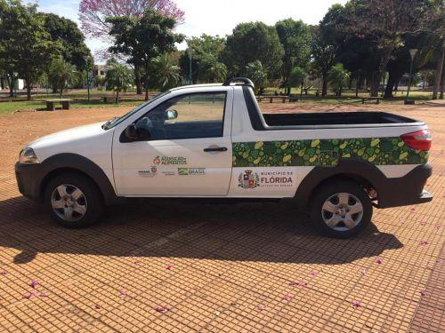Prefeitura recebe veículo 0 KM
