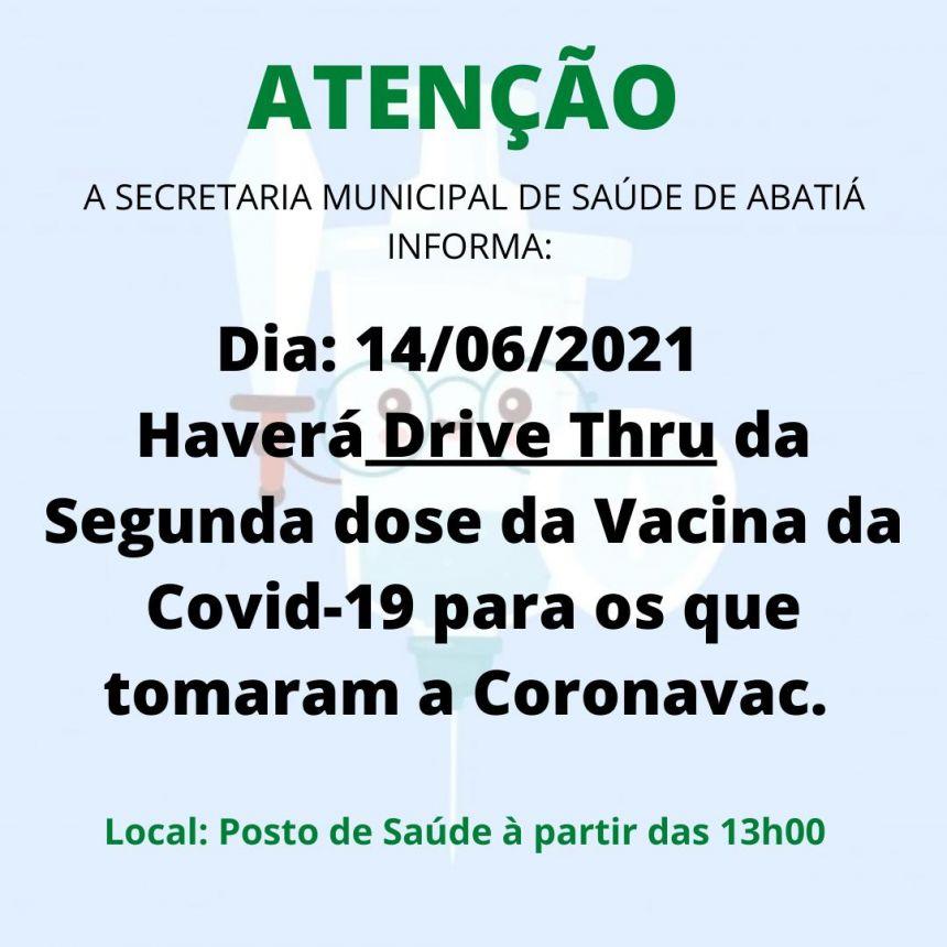 VACINAÇÃO 2ª DOSE - COVID-19