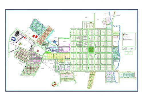 Mapa da Zona Urbana de Abati�