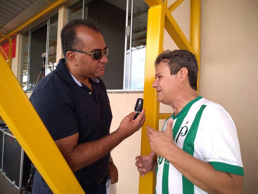 GRANDE FESTA NA ENTREGA DO ESTÁDIO PEREIRÃO