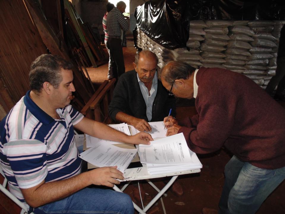 O reconhecimento dos produtos é realizado em parceria com o Sindicato Rural, EMARTER e ADAPAR.