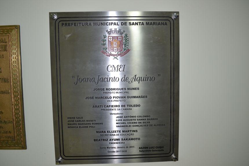 DISTRITO QUINZÓPOLIS RECEBE C.M.E.I. REFORMADO