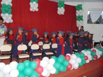 CENTROS DE EDUCAÇÃO DE SANTA MARIANA INICIAM AS FORMATURAS