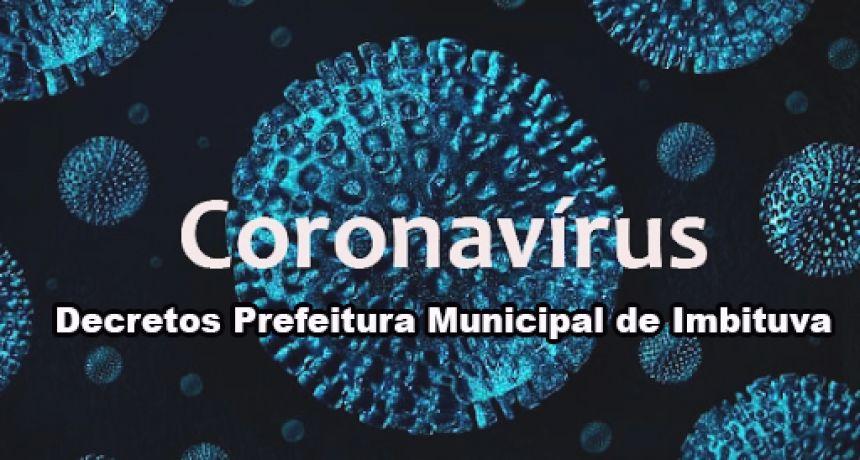 Confira todos os Decretos publicados pela Prefeitura Municipal sobre o COVID-19