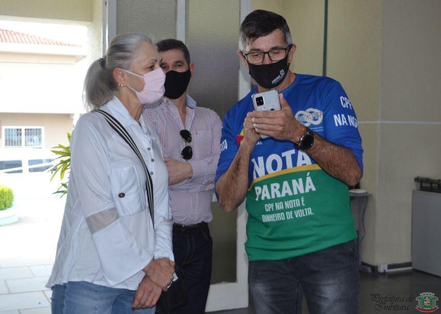 Imbituvense é contemplada com R$ 200 mil no sorteio do Nota Paraná
