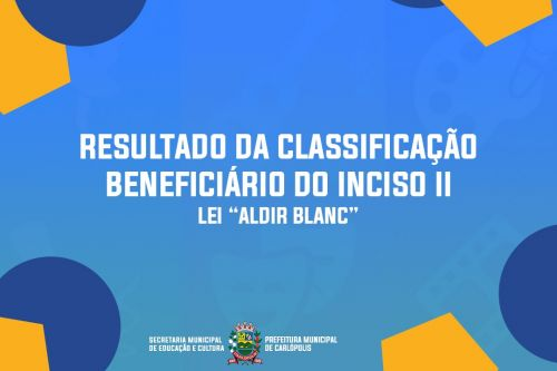 Concessão aos beneficiários do inciso II da Lei Aldir Blanc número 14.071/2020