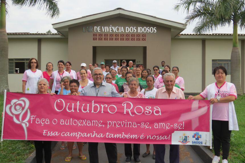 OUTUBRO ROSA EM PRADO FERREIRA