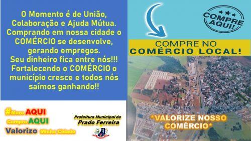 COMPRE DO COMÉRCIO LOCAL