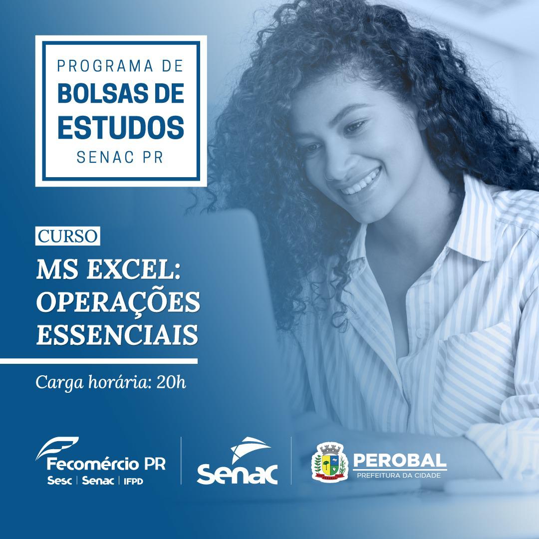 Senac Oferece curso de Excel: Operações Essenciais