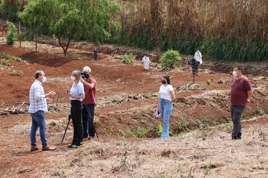 Rede Massa - SBT exibe matéria com prefeito de Ivaiporã sobre programa Cultivando Água Limpa