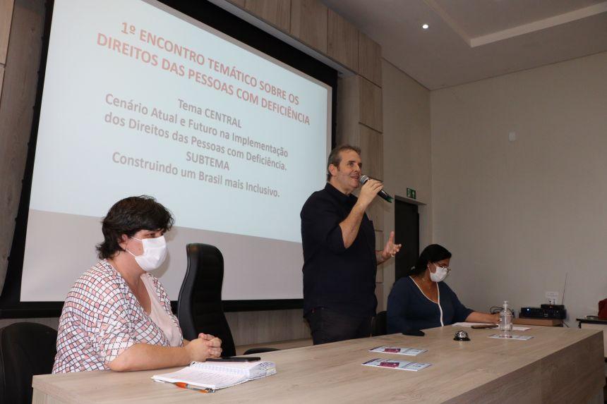 Departamento de Assistência Social realiza 1º Encontro Temático dos Direitos da Pessoa com Deficiência