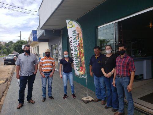 Ivaiporã e Cândido de Abreu estudam parceria associada à agricultura familiar