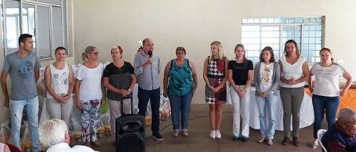 Prefeitura de Ivaiporã realiza confraternização com Grupo Renascendo na Melhor Idade