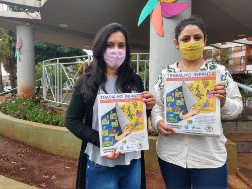 Prefeitura de Ivaiporã conscientiza população sobre Combate ao Trabalho Infantil