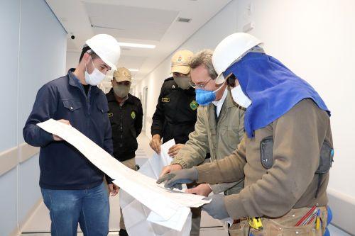Equipamentos estão instalados conforme previstos no projeto