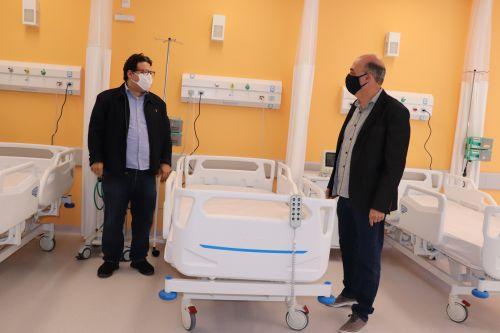 Conrado Ferri  e Miguel Amaral conversam sobre a estrutura