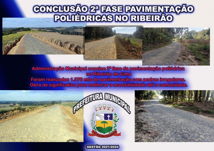 2ª Fase Concluída no Ribeirão