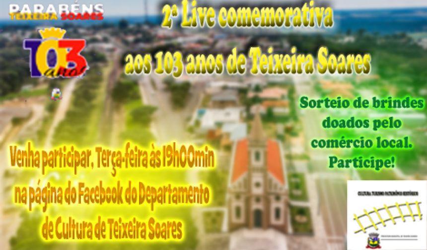 Live Histórica para os Teixeira Soarenses