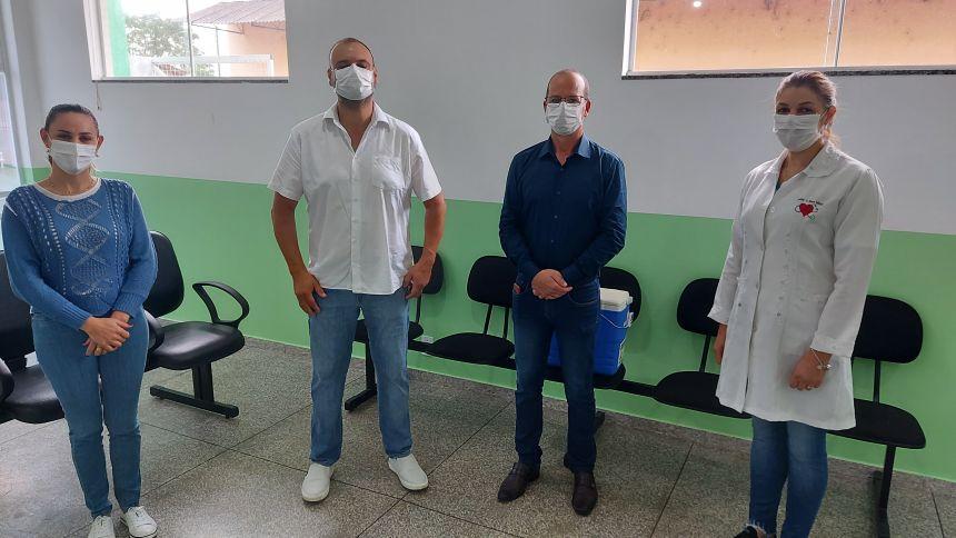 Chegam as primeiras doses Contra  Corona Vírus no município