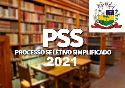 EDITAL DE PROCESSO SELETIVO SIMPLIFICADO Nº 01/2021