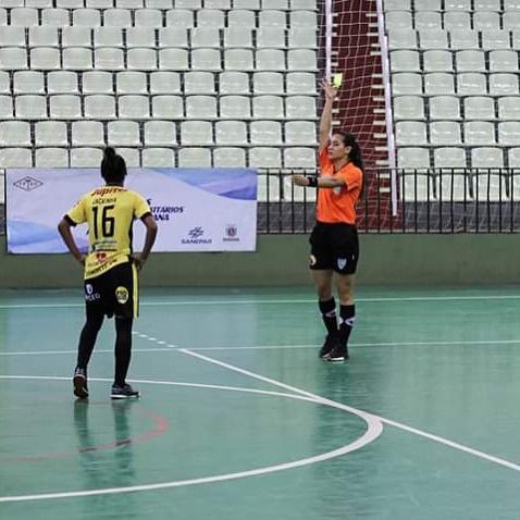Árbitra são-pedrense entra para a Confederação Brasileira de Futsal