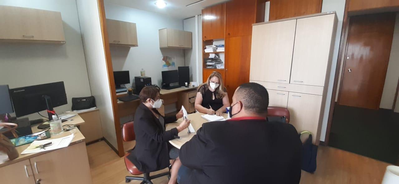 Prefeita se reúne com deputados federais e senador em Brasília