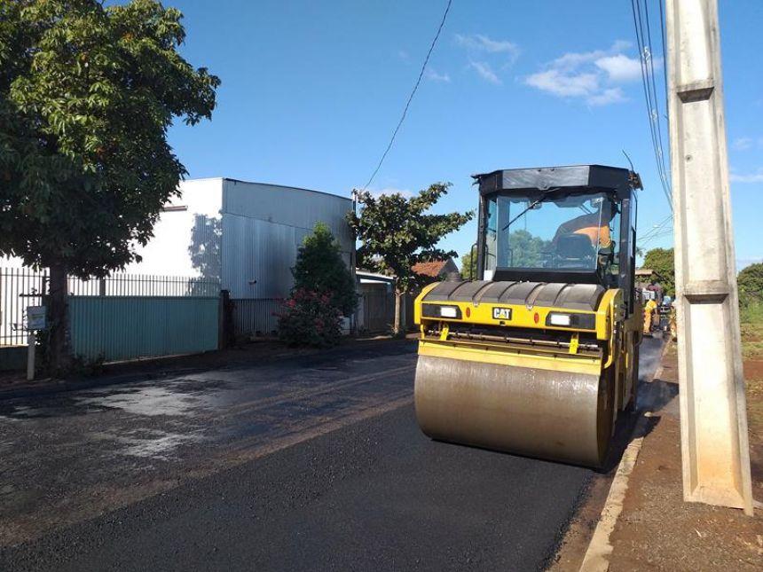 Com mais de 48 mil metros quadrados, prefeitura inicia um dos maiores projetos asfáltico de São Pedro do Ivaí