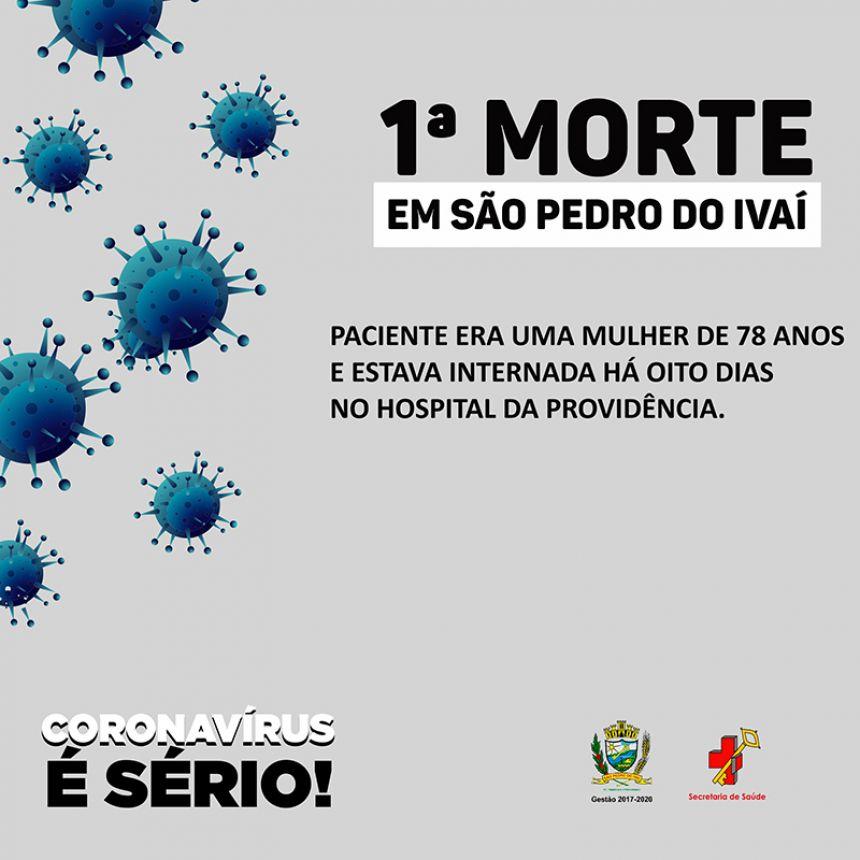 São Pedro do Ivaí confirma primeiro óbito por Covid-19 no município
