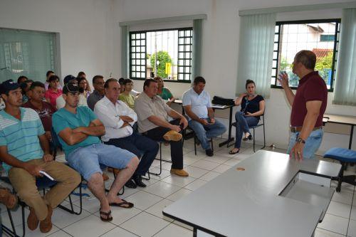 Com apoio a agricultura familiar, governo municipal quer APROFASPIR mais forte em 2017