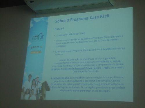 T�cnicos de prefeituras do Vale do Ivai s�o capacitados em novo sistema habitacional do Governo do Paran�.
