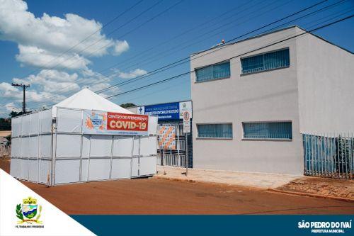 São Pedro do Ivaí inaugura Centro de Atendimento Covid-19