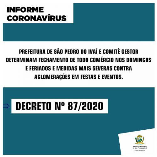 Prefeitura e Comitê Gestor endurecem medidas contra Covid-19