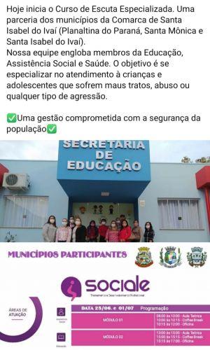CURSO DE ESCUTA PERSONALIZADA
