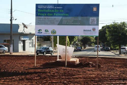 Prefeitura inicia revitalização da Praça das Palmeiras
