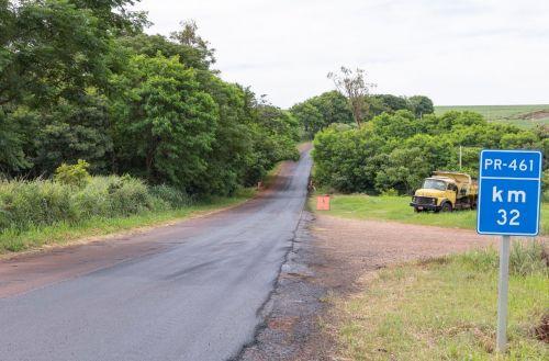 Recape na PR 461, entre Ângulo e Flórida torna-se realidade