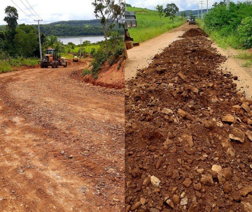 Secretaria de Obras realizou melhorias em 140 km de estradas rurais