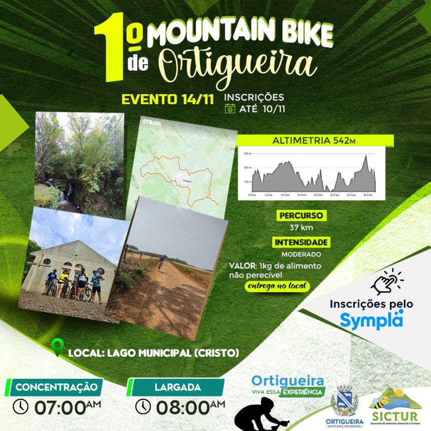 1º MOUNTAIN BIKE DE ORTIGUEIRA