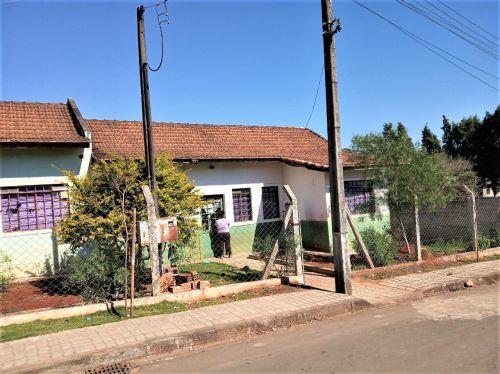 Foto da Casa de Apoio antes da reforma iniciada em março de 2020.