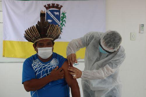 Cacique Valdevino Ribeiro, da aldeia Mococa: