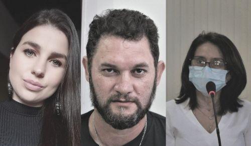 Ana Souza, Claudemir Carneiro e Sueli Martins comentam a importância da nova escola estadual.