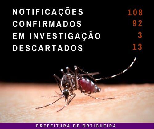 Boletim dengue: cidade tem 108 notificações de casos da doença